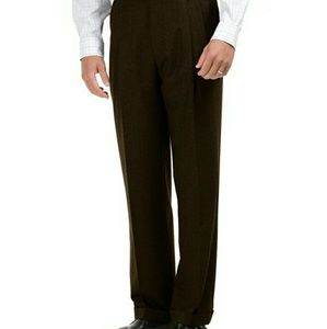 Brooks Brothers Madison Fit Wool Trousers
